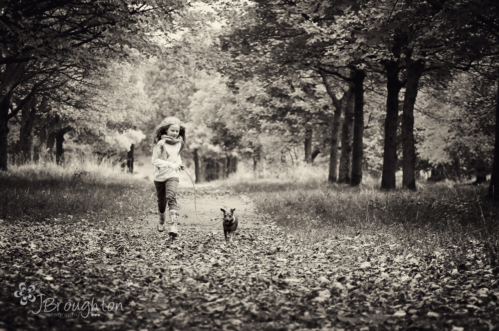 Children's outdoor photography in Bolton, Lancashire