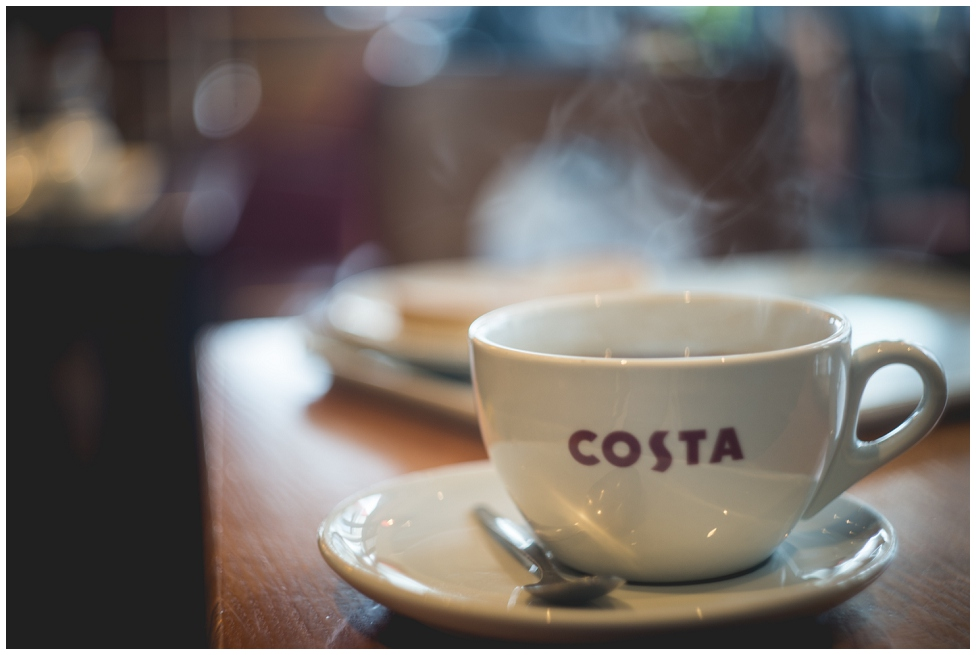 Costa coffee with Helios 44-2 58mm vintage russian lens