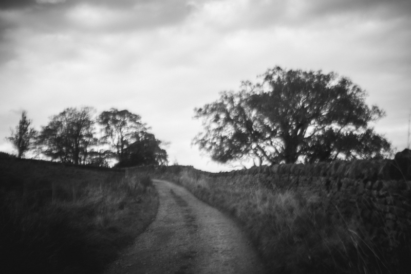 black and white photography with a vintage lens