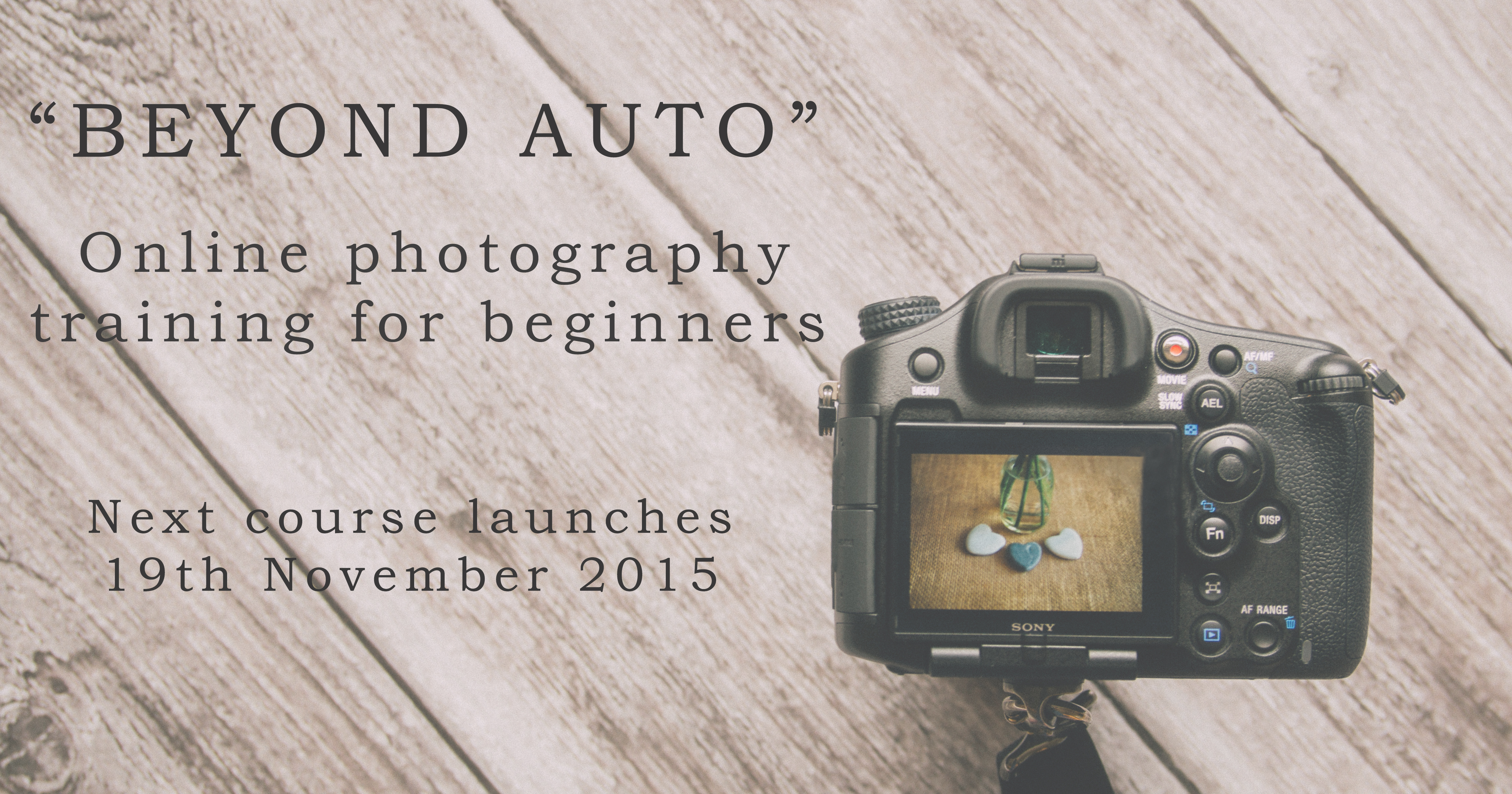 beginners photography courses online