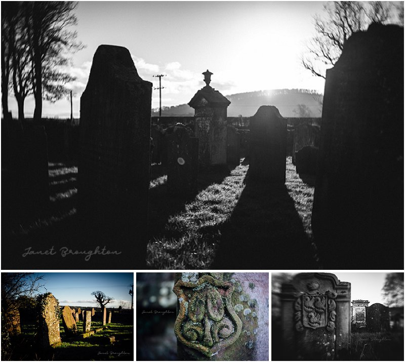 lensbaby Burnside 35 - graveyard photo