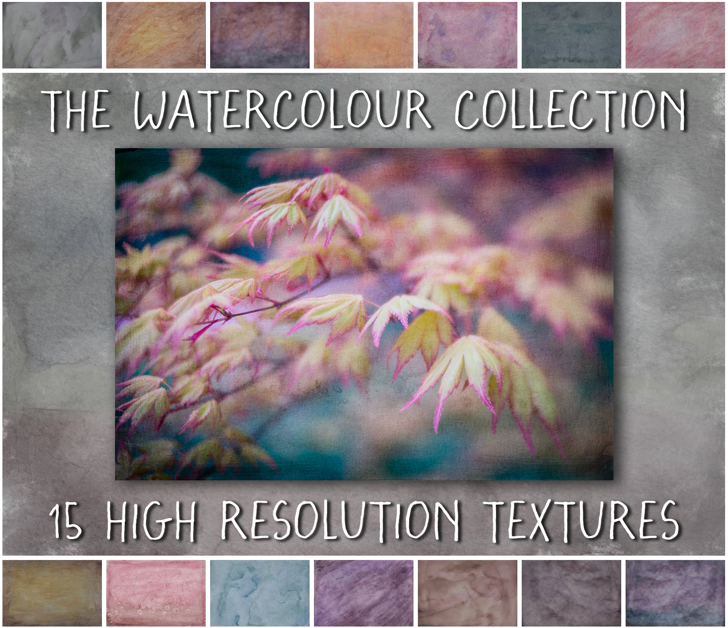 Photoshop textures and overlays by Janet Broughton